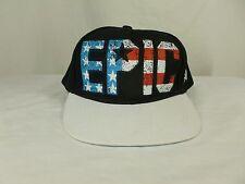 Brother Baseball Hat Cap EPIC Hip Hop Snapback USA Flag Stars 100% Cotton NWOT