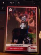 2014 Topps WWE #57 Rey Mysterio BLACK Parallel NrMint-Mint