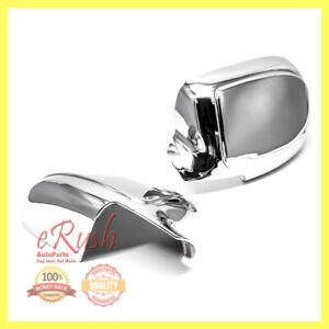 FOR 2000-2006 CHEVROLET TAHOE SUBURBAN CHROME SIDE MIRROR FULL COVER COVERS FAST