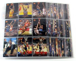 1995-96 Upper Deck Basketball Complete Set in Sheets (360) Garnett RC Jordan