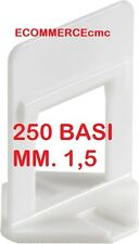250 BASE RLS RAIMONDI LEVELLING SYSTEM 250 Pz.  BASETTA RLS 250 Pezzi !!MM 1,5!!