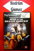 Fantastic 4 Rise Of Silver Surfer PS2 Video Games