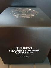 Suunto Traverse Alpha Concrete GPS Sport/Running/Activity Watch