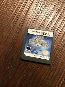 Age of Empires: Mythologies (Nintendo DS, 2008) GAME ONLY