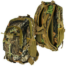 35L Litre Camo Fishing Camping Rucksack Backpack Outdoors Travel Bag & Back Vent
