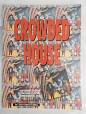 Crowded House - Self-Titled first album song book - piano vocal guitar PVG