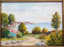 Sollier - Paysage méditerranéen