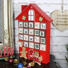CASA in legno Pan di Zenzero cassetti Calendario dell'Avvento natale Xmas decorazione casa