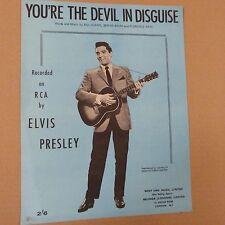 Quanto sei il diavolo sotto mentite spoglie, Elvis Presley, 1963