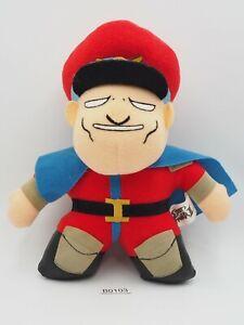 "Street Fighter II B0103 M.Bison Vega Capcom Plush 8"" Stuffed Toy Doll Japan"