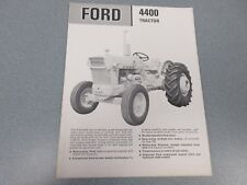 Ford 4400 Tractor Brochure                  lw