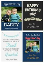 Personalised Daddy Grandad Fathers Day Wine Label Gift