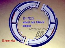 Triumph Bremsbeläge brake shoes W1732 W1733 37-1732/3 W1734 1966-67 T120 TR6