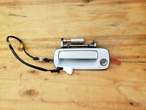 95 96 97 Only Lexus LS400 Front Left Driver Outer Door Handle Pearl White OEM