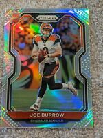 2020 Panini Prizm Joe Burrow Silver Prizm Rookie 🔥 #307 Bengals RC Read