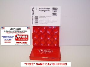 LEE 90196 * LEE SHELL HOLDER STORAGE BOX FOR SHELL HOLDERS * 90196