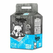 Absorb Plus 60 x 90cm Charcoal Training Pee Pad Sheets for Puppy, Large - 25 Count