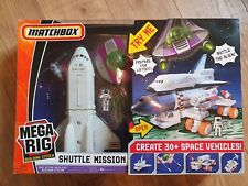 SPACE SHUTTLE MISSION Matchbox Mega Rig Building  Playset (2008)