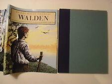 Henry David Thoreau's Walden, Steve Lowe, Robert Sabuda, DJ, 1990