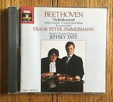 Beethoven: Violin Concerto CD EMI Recs, Frank Peter Zimmermann