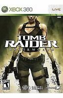 Tomb Raider Underworld Xbox 360/Xbox One Game Complete Collectible
