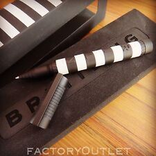 breitling luxury black and white rubber rollerball pen very rare 2015