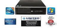 hp 8200/6200 Intel i5 quad core Windows 7/10 250GB 4GB/8GB WiFi Ready desktop PC