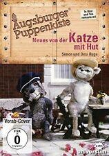 AUGSBURGER PUPPENKISTE - NEUES VON DER KATZE MIT HUT   DVD NEU