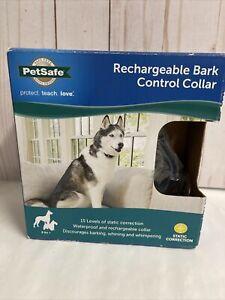 Pet Safe Rechargeable Bark Control Collar PBC00-15999.  S4