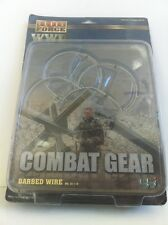 ELITE FORCE BBI WWII COMBAT GEAR BARBED WIRE SET FOR 1:6 SCALE.