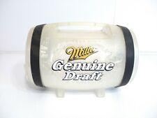 "Vintage Mgd Miller Beer Genuine Draft 64 oz Beer Novelty Keg Tap ""Display Only"""