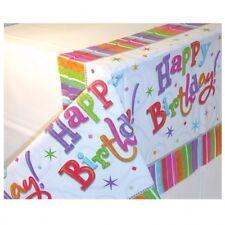 Alles Gute Zum Geburtstag Radiant Regenbogen Sterne Plastik Party Tischdecke