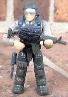 Mega Bloks 06875 Call Of Duty Jungla Soldados Tropa Micro Figura #5 con /