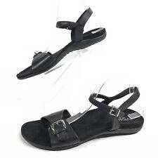 Vionic Women's Size 11 Alita Sling Back Sandals Ankle Strap Black Buckles