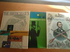 THE AMERICAN GUN SPRING/SUMMER/WINTER 1961 LOT OF 3 BOOKS IN GD/VG COND
