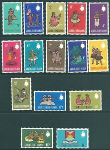 GILBERT & ELLICE ISLANDS 1965 QE2 mint SET