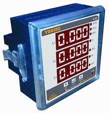 YOKINS Digital panel meter multifunction Single phase DPM YI-523 20A direct