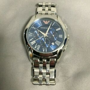 Emporio Armani AR-1787 Blue Dial Stainless Steel Watch 52786/LHH