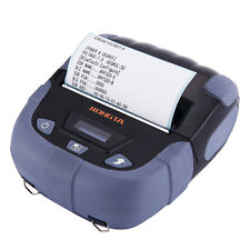 Thermal Barcode Label Printer Mobile Receipt Printer with Bluetooth Wireless USB