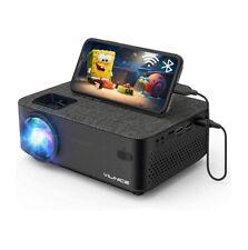 Mini Beamer, VILINICE Heimkino Beamer Full HD, WiFi Projektor mit (Schwarz)