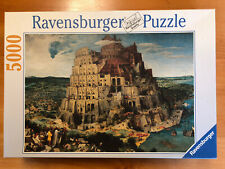 "Ravensburger Puzzle Tower of Babel 5000 Pieces Very Good Condition 40"" x 60"""