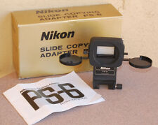 NIKON PS-6 35mm Slide Copying attachment for PB-6 EXC+ condition in box PS6