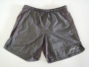 "Patagonia Men's STRIDER PRO Running Shorts 7"" Inseam Forge Grey Size LARGE"