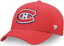 Montreal Canadiens Fanatics Stretch Fit Flex Red L / XL Hat (NEW)
