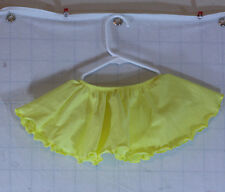 Yellow Ballet Skirt Child size 2-4 - figure skating skirt - ice skating skirt