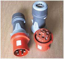 MENNEKES CEE-Stecker PowerTOP Xtra 63A 400V 5-polig rot IP44 Typ 13112 NEU