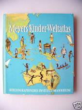 Meyers Kinder-Weltatlas 1960 Atlas