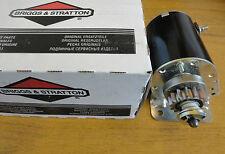 593934 GENUINE BRIGGS AND STRATTON 12 VOLT STARTER MOTOR 14 tooth steel gear