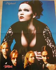 Tarja Turunen [ Nightwish ]  /  Rose Tattoo  _  1 Poster / Plakat  46 cm x 59 cm
