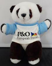 "P&O European Ferries 10"" Panda Bear Plush"